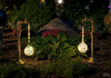 water drop lights diy waterdrop solar garden lights the navage patch