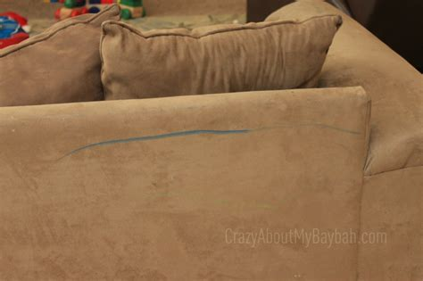 how to get crayon off couch how to clean crayon off of a microfiber couch