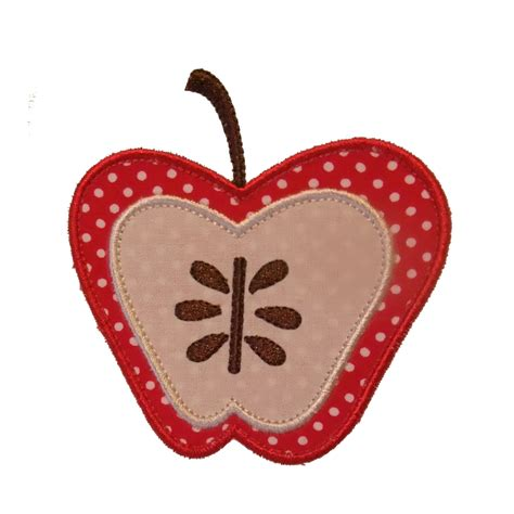 Embroidery Applique Design by Big Dreams Embroidery Botanical Apples Machine Embroidery