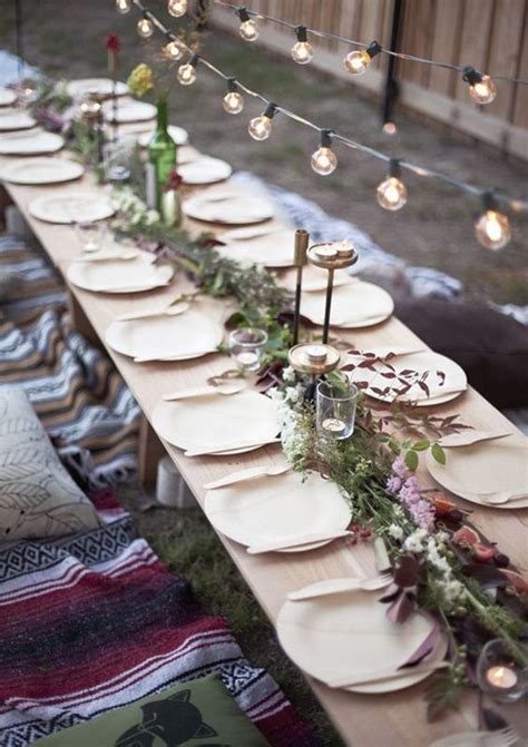 outdoor christmas table settings ideas interior god