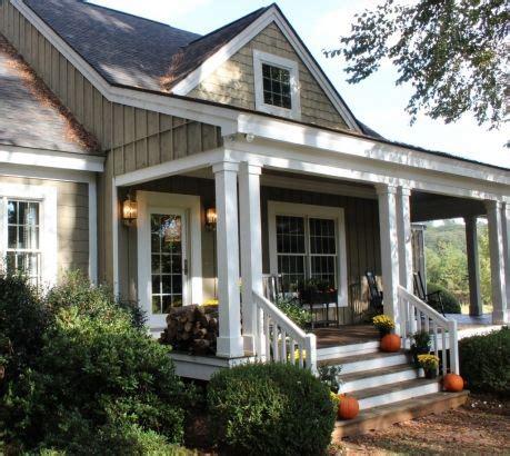 25 Best Ideas About Front Porches On Pinterest Natural House Plans With Large Columns