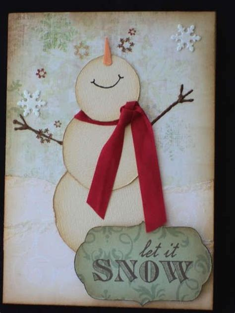 snowman cards to make creative diy card ideas 2016 pink lover