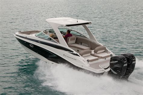 crownline boat with outboard crownline e 29 xs review boats