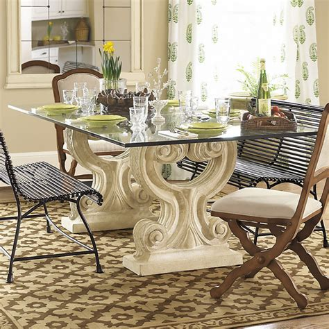 Ballard Designs Dining Table Ballard Designs Acanthus Dining Contemporary Dining Tables By Ballard Designs