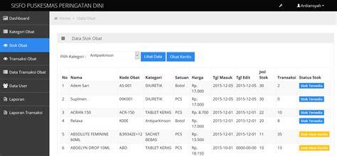 cara membuat dfd pdf source code aplikasi menegemen puskesmas php mysql codeigniter