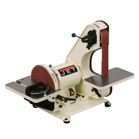 home depot bench sander jet 2 in x 42 in bench belt and 115 volt 8 in disc