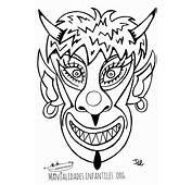 Mascaras De Carnaval Para Imprimir  Manualidades Infantiles