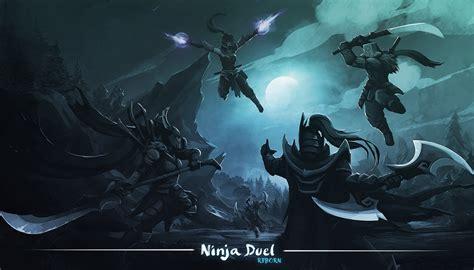 wallpaper dota 2 reborn dota ninja duel reborn by qassamzed dota2 pinterest