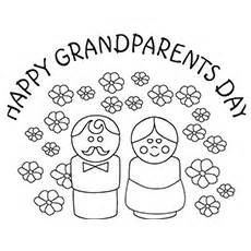 10 grandparents coloring pages