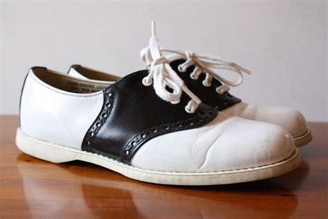 vintage 1950s bilt rite saddle shoes size 3