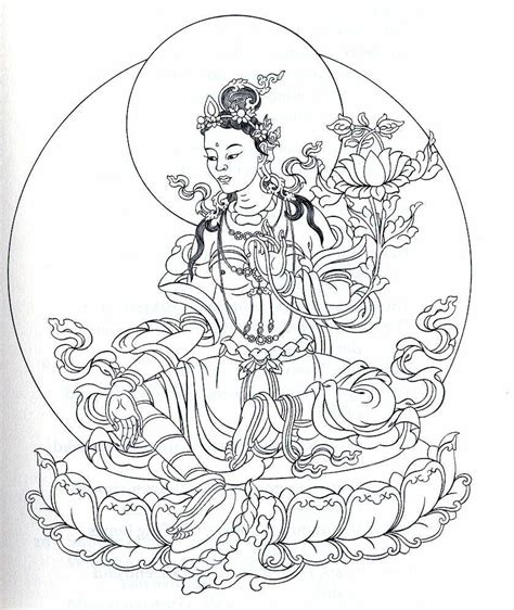 free buddhist symbol coloring pages