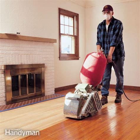 Hardwood Floors: Refinishing: Installing   The Family Handyman