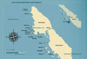 World Wave Map by Mentawai Islands Surf Resort Indonesia Macaronis Resort