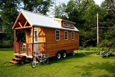 tiny home on trailer 16 types of tiny mobile homes which nomadic living space