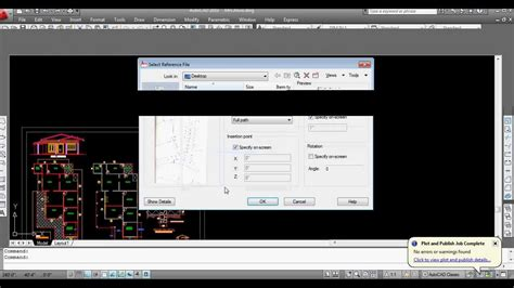 tutorial raster design 2015 how to insert image to autocad raster image reference