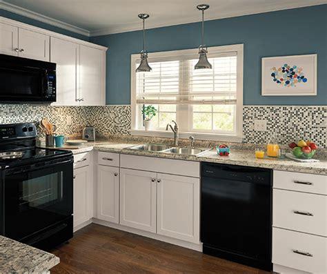 Kitchen Design With Black Appliances Diamond Now Arcadia Room Scene