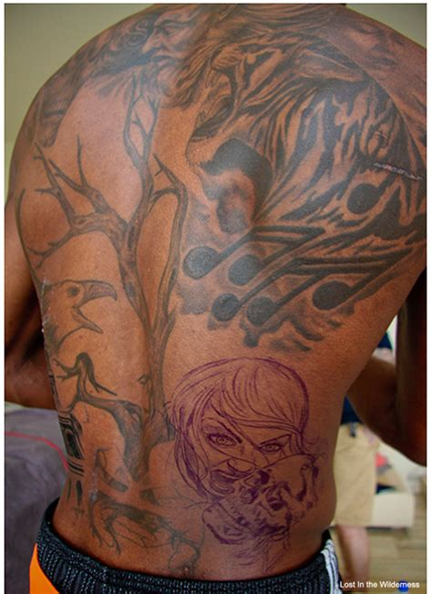 nba player tattoos 13 worst nba player tattoos for 2013 pictures