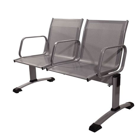 bench flys fly bench metal bench for waiting room from 2 to 5 seats