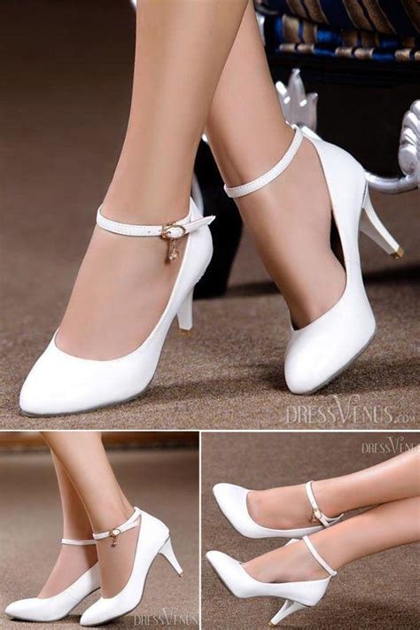 Twoban Heels Hils simple 2014 new arrive pointed end white high heels wedding shoes 2536050 weddbook