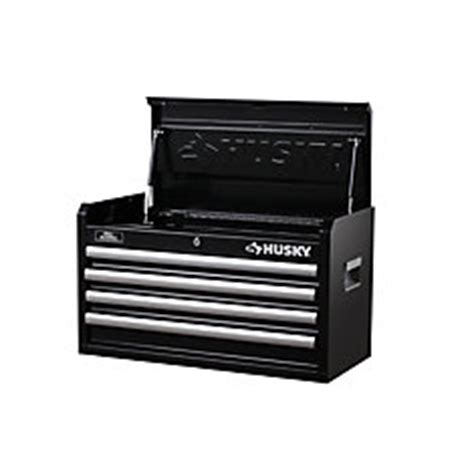 Rent To Own Husky 26 Inch 5 Drawer Tool Chest Textured Black by Husky 26 Inch 4 Drawer Chest The Home Depot Canada
