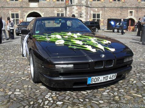 Auto Hochzeitsschmuck by Hochzeit0364 F10 2012 Alu Motorhaube Wegen