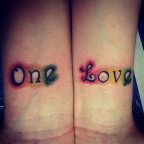 one love tattoo geneva my one love tattoo fresh ink ink pinterest love