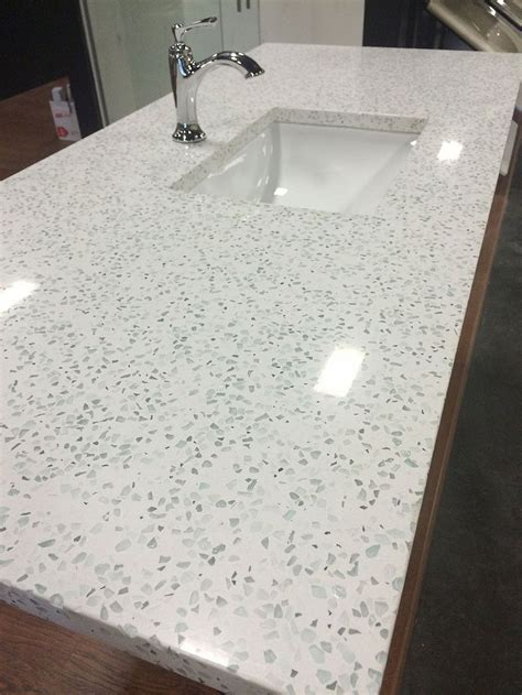recycled kitchen countertops 25 best ideas about recycled glass countertops on