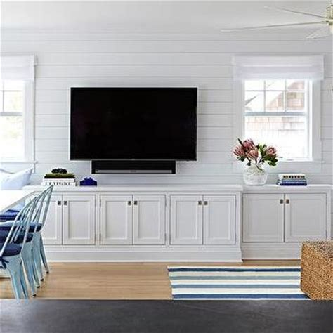white living room cabinets shiplap living room walls design ideas