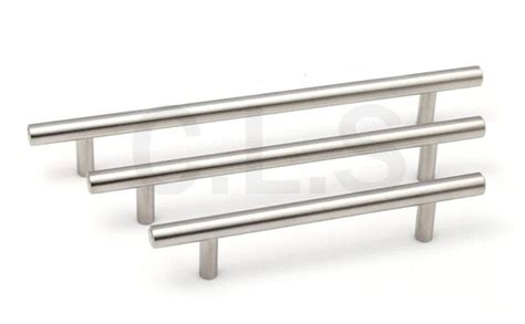 2014 new solid stainless steel drawer pull furniture bar t