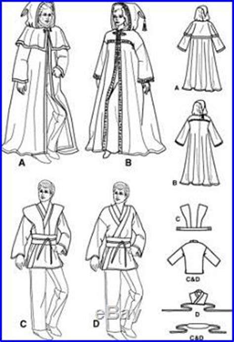 free pattern jedi cloak pattern simplicity star wars jedi luke skywalker robe obi