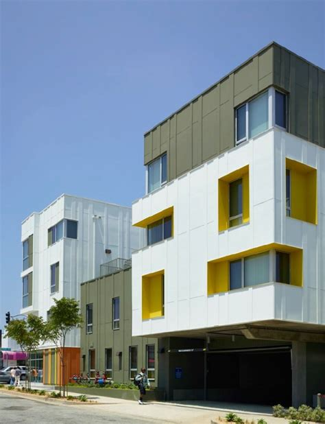 section 8 housing santa monica 2802 pico housing by moore ruble yudell contemporist