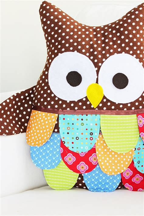 sewing pattern owl owl sewing pattern owl pillow pattern large owl pdf