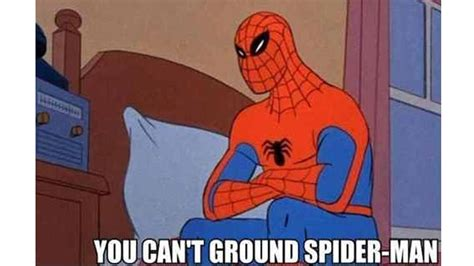 Spiderman 60 Meme - 60 s spider man know your meme