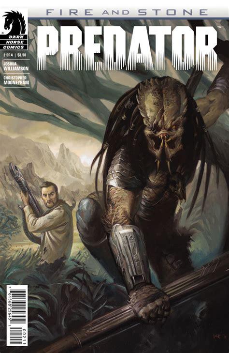 review predator fire  stone  buddy action sci fi