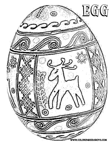 Free Coloring Pages Of E Is For Egg Egg Coloring Page