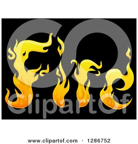 Clipart Blue Flame Design Elements Forming Shapes ... American Football Tattoos Designs