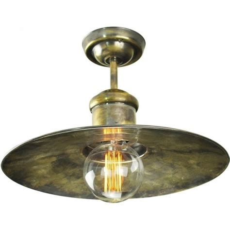 Nautical Ceiling Light Nautical Style Semi Flush Ceiling Light Antique Finish With Bulb