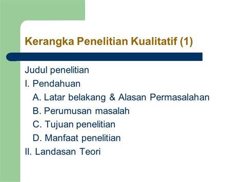 judul latar belakang rumusan masalah jadwal metode metodologi penelitian ppt download