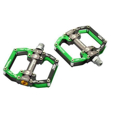 cnc aluminum alloy 3 bearing mountain bike pedal mtb chromium molybdenum steel pedals alex nld