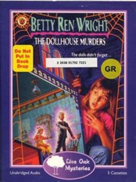 doll house murders children s book review the dollhouse murders by betty ren wright author carol