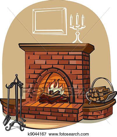 cartoon kachel clip art of fireplace k9044167 search clipart