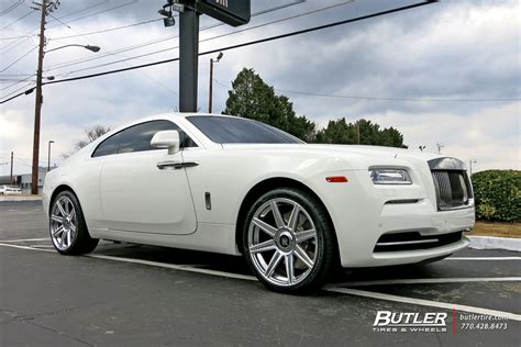 roll royce wraith on rims rolls royce wraith custom wheels avant garde agl22 22x et