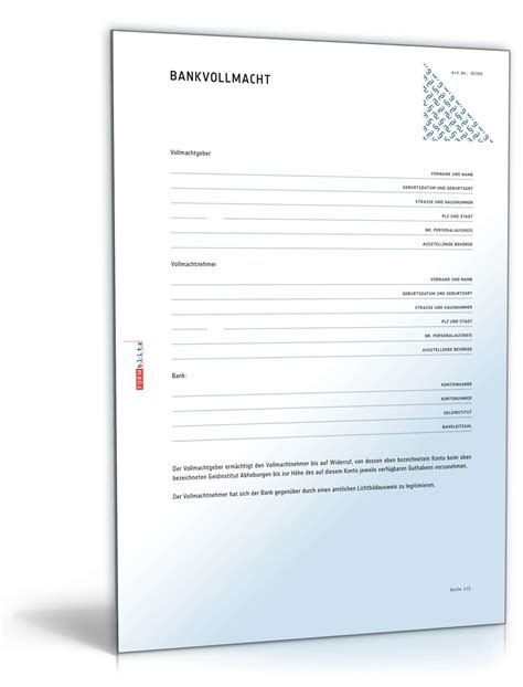 abnahmeprotokoll wohnung muster bankvollmacht f 252 r 220 berweisungen muster zum