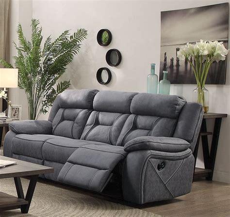 Houston Stone Motion Living Room Set From Coaster Houston Living Room Furniture