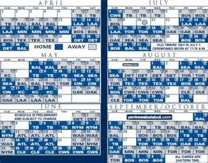 yankees home schedule new york yankees printable 2013 mlb schedule auto review