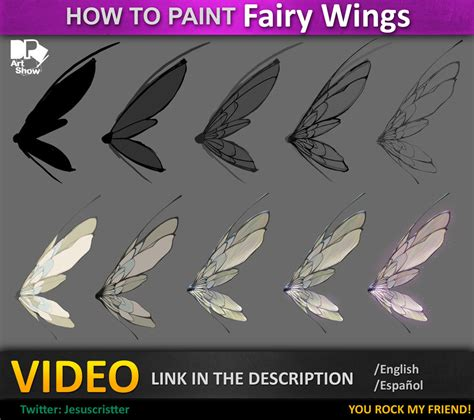 how to paint how to paint fairy wings by jesusaconde on deviantart