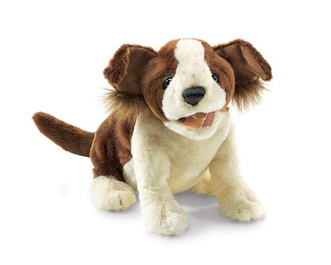 canine puppy lucky puppet by folkmanis puppets