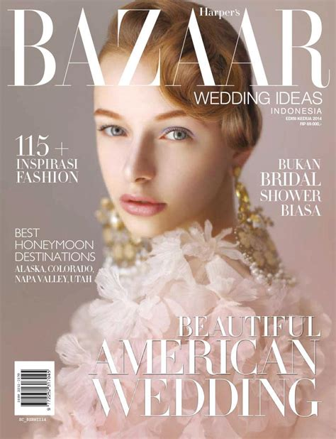 S Bazaar Wedding by S Bazaar Wedding Ideas Indonesia Magazine Ed 02