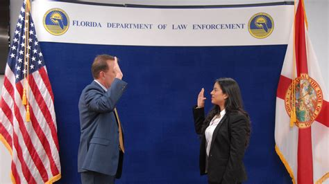 Fdle Records Widow Of Slain Kissimmee Officer Sworn In As Fdle Special
