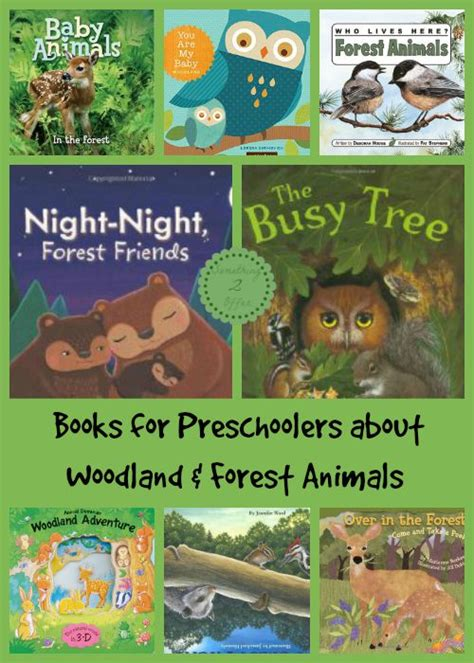 the of the forest books 10 preschool books about woodland and forest animals